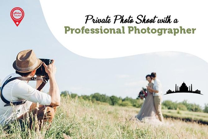Private Photo Shoot with a Professional Photographer in Agra